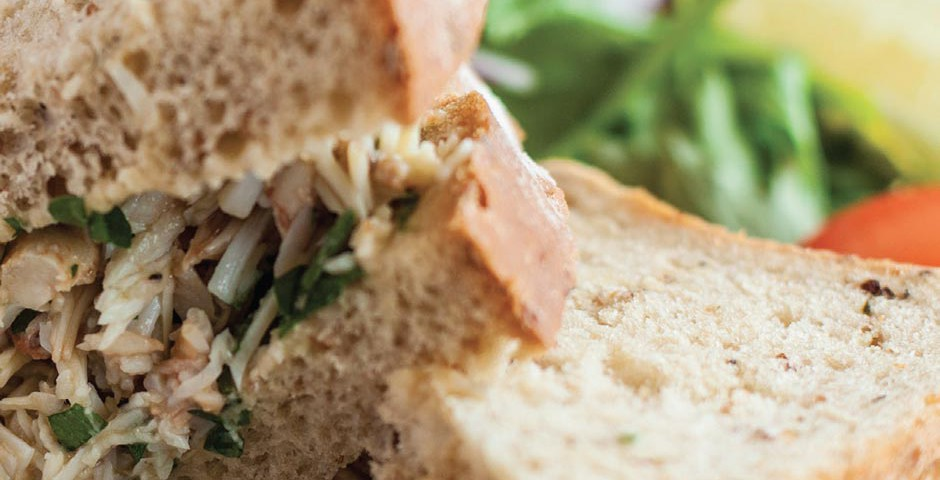The perfect crab sandwich : Great Cornish Food