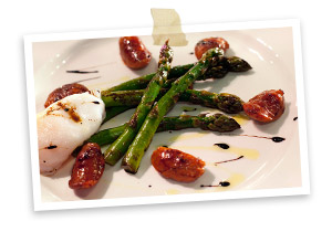 Photo of    Chargrilled Cornish asparagus