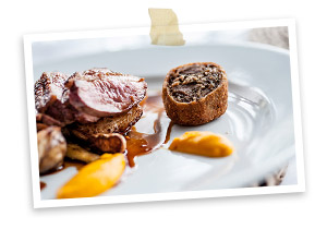 Photo of    Roast breast and crispy leg of Cornish duck