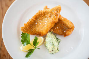 Photo of    Fillets of Megrim Sole with Salsa Verde Mayonaise