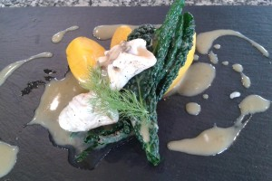Photo of    Megrim Sole with Curly Kale