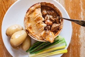 Photo of    Cornish Steak and 1913 Stout Pie